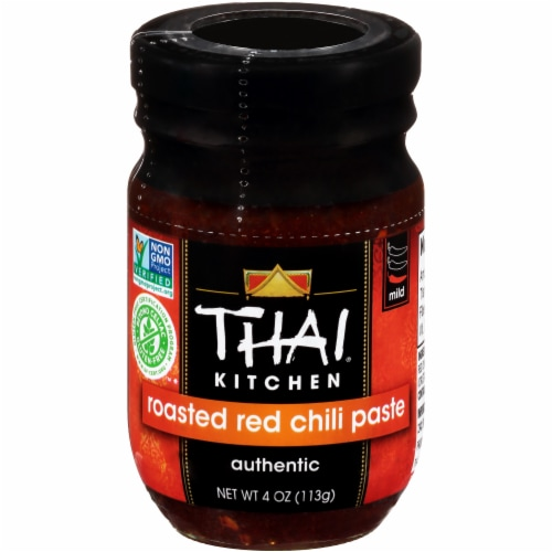 Thai Kitchen Roasted Red Chili Paste Perspective: front