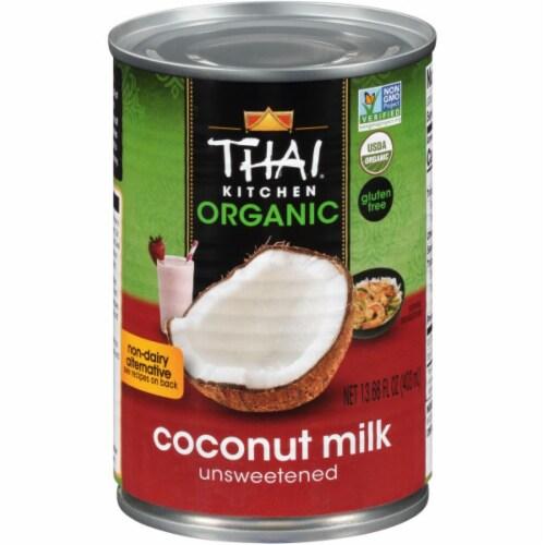 Thai Kitchen Organic Coconut Milk Perspective: front