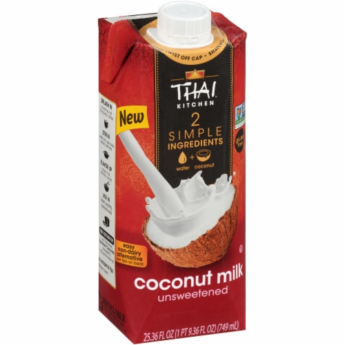 Thai Kitchen Unsweetened Coconut Milk Perspective: front