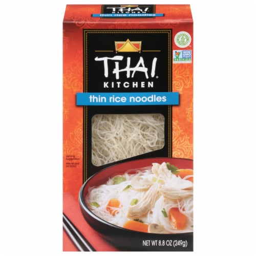 Thai Kitchen Thin Rice Noodles Perspective: front