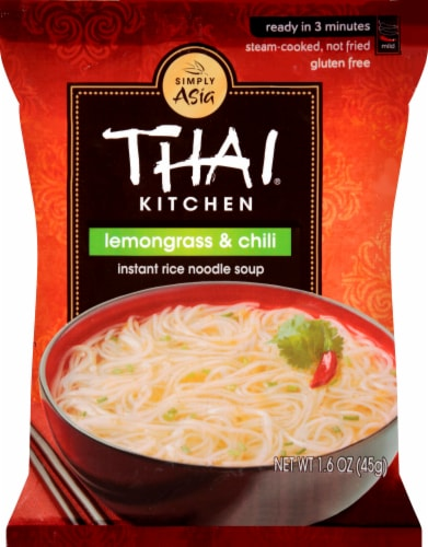 Thai Kitchen Lemongrass & Chili Instant Rice Noodle Soup Perspective: front