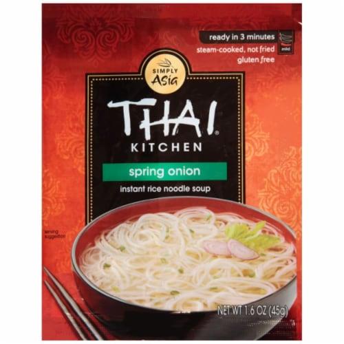Thai Kitchen Spring Onion Instant Rice Noodle Soup Perspective: front