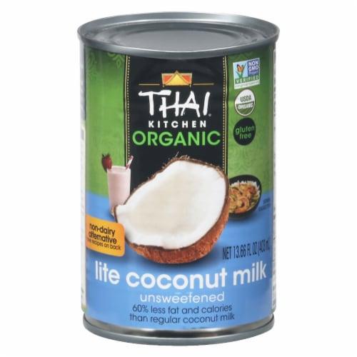 Thai Kitchen Organic Lite Coconut Milk Perspective: front