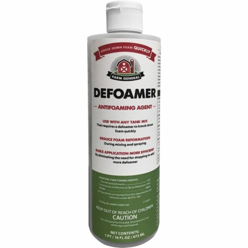 Ragan & Massey 246572 16 oz Defoamer Antifoaming Agent Spray Aid Perspective: front