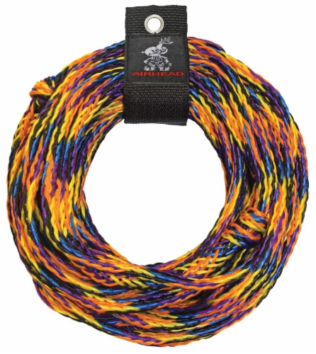 Airhead Deluxe 2 Riders Tube Tow Rope Perspective: front
