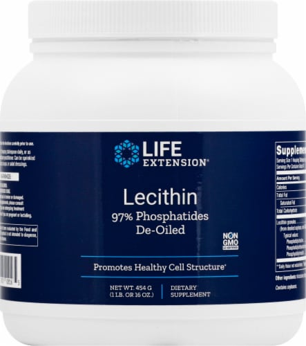 Life Extension Lecithin Perspective: front