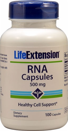 Life Extension  RNA Capsules Perspective: front