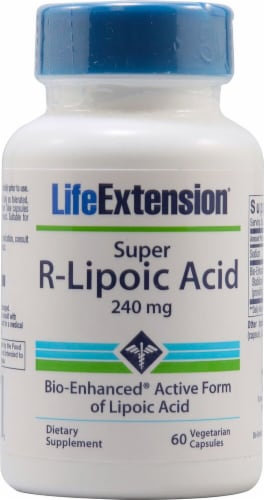 Life Extension  Super R-Lipoic Acid Perspective: front