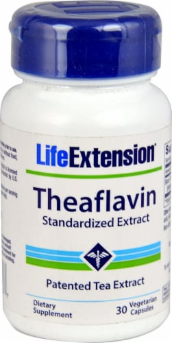 Life Extension  Theaflavin Standardized Extract Perspective: front