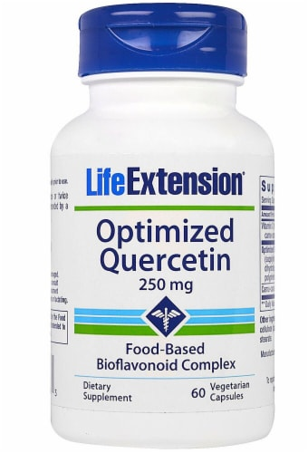 Life Extension Optimized Quercetin 250mg Perspective: front