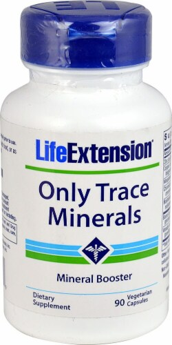 Life Extension  Only Trace Minerals Perspective: front