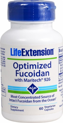 Life Extension  Optimized Fucoidan With Maritech® 926 Perspective: front
