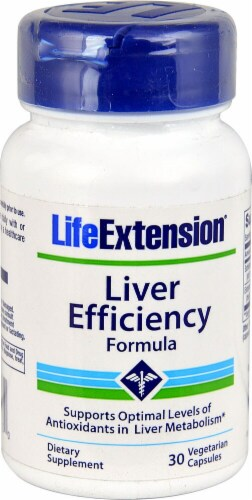Life Extension  Liver Efficiency Formula Perspective: front