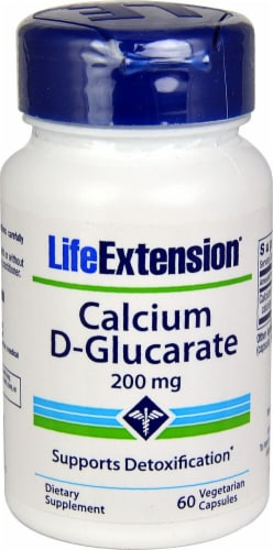 Life Extension  Calcium D-Glucarate Perspective: front