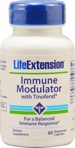 Life Extension  Immune Modulator with Tinofend® Perspective: front