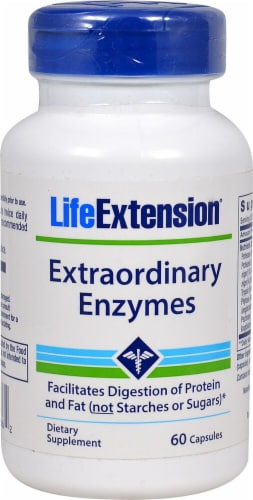Life Extension  Extraordinary Enzymes Perspective: front