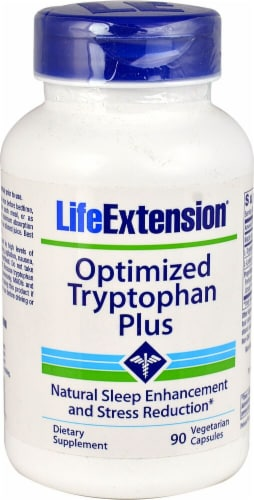 Life Extension  Optimized Tryptophan Plus Perspective: front