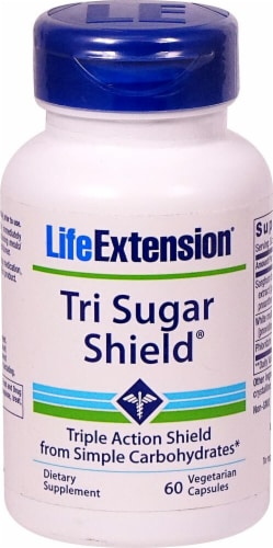 Life Extension  Tri Sugar Shield™ Perspective: front
