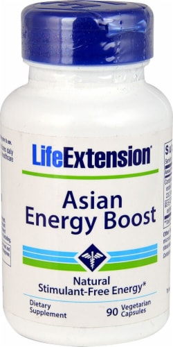 Life Extension  Asian Energy Boost Perspective: front
