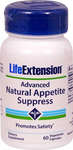 Life Extension  Advanced Natural Appetite Suppress Perspective: front