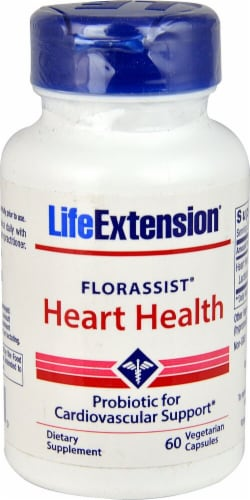 Life Extension  FlorAssist® Heart Health Probiotic Perspective: front