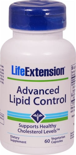 Life Extension  Advanced Lipid Control Perspective: front