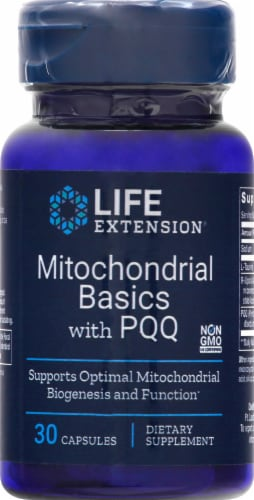 Life Extension  Mitochondrial Basics with BioPQQ® Perspective: front