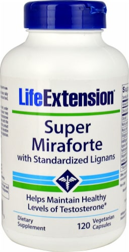 Life Extension  Super Miraforte with Standardized Lignans Perspective: front