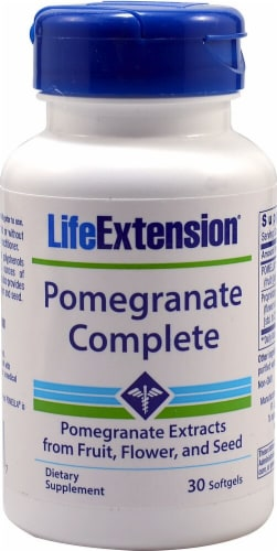 Life Extension  Pomegranate Complete Perspective: front