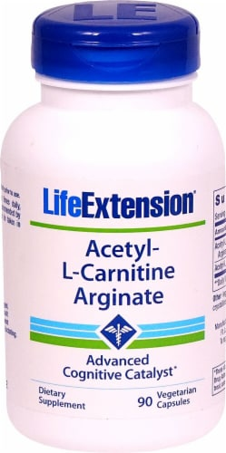 Life Extension  Acetyl-L-Carnitine Arginate Perspective: front