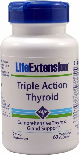 Life Extension  Triple Action Thyroid Perspective: front