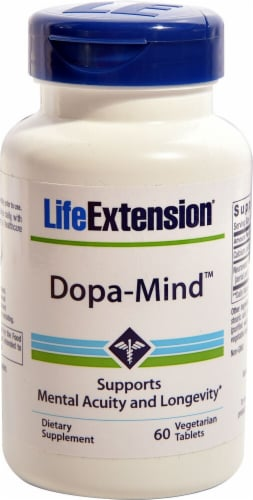 Life Extension  Dopa-Mind™ Perspective: front