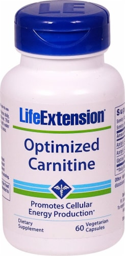 Life Extension  Optimized Carnitine Perspective: front