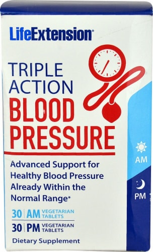Life Extension  Triple Action Blood Pressure Perspective: front