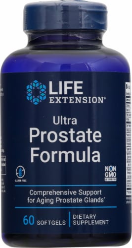 Life Extension Ultra Prostate Formula Softgels Perspective: front