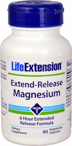 Life Extension  Extend-Release Magnesium Perspective: front