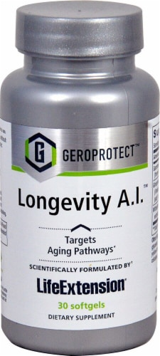 Life Extension  GEROPROTECT™ Longevity A.I.™ Perspective: front