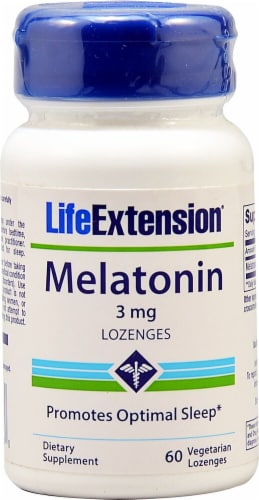 Life Extension  Melatonin Perspective: front