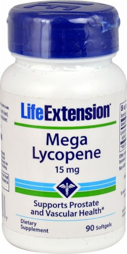 Life Extension  Mega Lycopene Perspective: front
