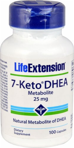 Life Extension  7-KETO® DHEA Metabolite Perspective: front