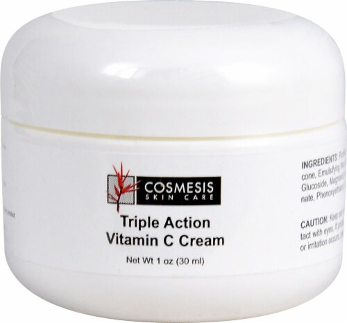 Life Extension  Cosmesis Skin Care Triple Action Vitamin C Cream Perspective: front