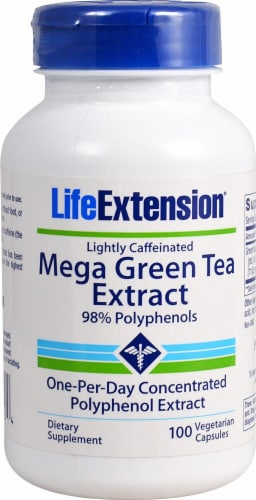 Life Extension  Mega Green Tea Extract Perspective: front
