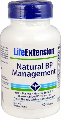 Life Extension  Natural BP Management Perspective: front