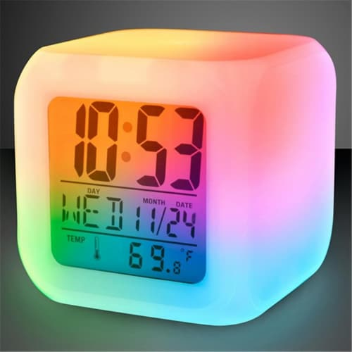 Blinkee 824200 LED Alarm Clock Perspective: front