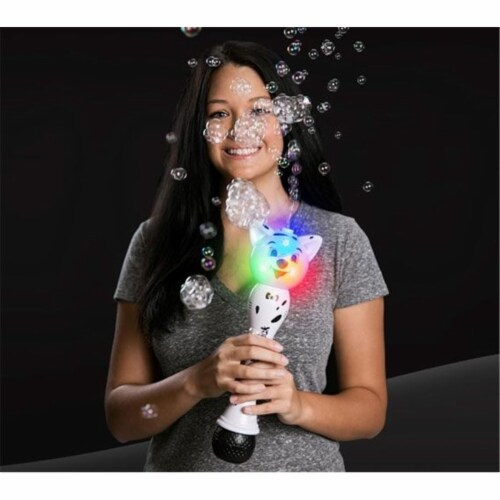 Blinkee 12MBDW-DG 12 in. Musical Dog LED Bubble Wand, Rainbow Perspective: front