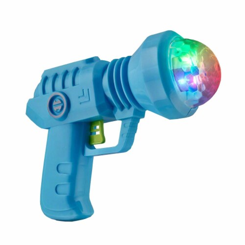 Blinkee LUSSPG-MULT Light Up Spinning Space Prism Gun No Sound Perspective: front