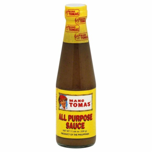 Mang Tomas All Purpose Sauce Perspective: front