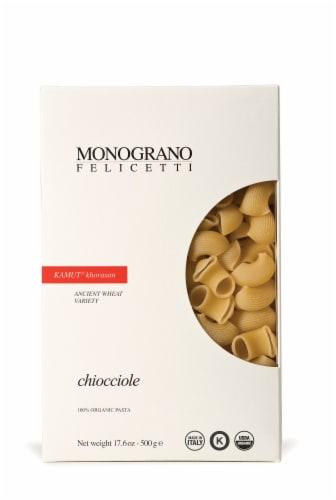 Monograno Felicetti Kamut Chiocciole Pasta Perspective: front
