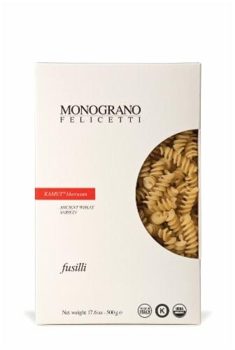 Monograno Felicetti Organic Kamut Khorasan Fusilli Perspective: front