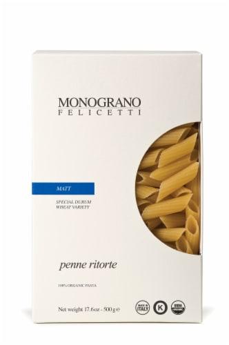 Monograno Felicetti Matt Penne Ritorte Pasta Perspective: front